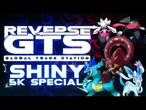 """5,000 SUBSCRIBER SHINY SPECIAL!"" - Reverse GTS #RGTS - Pokemon Omega Ruby Alpha Sapphire Livestream"