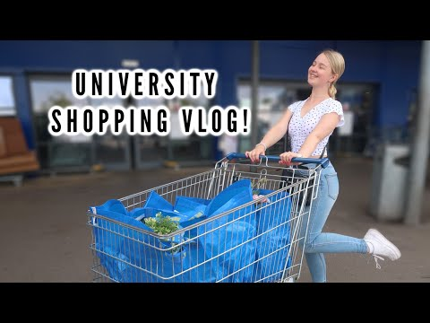 COME SHOPPING WITH ME FOR UNIVERSITY!