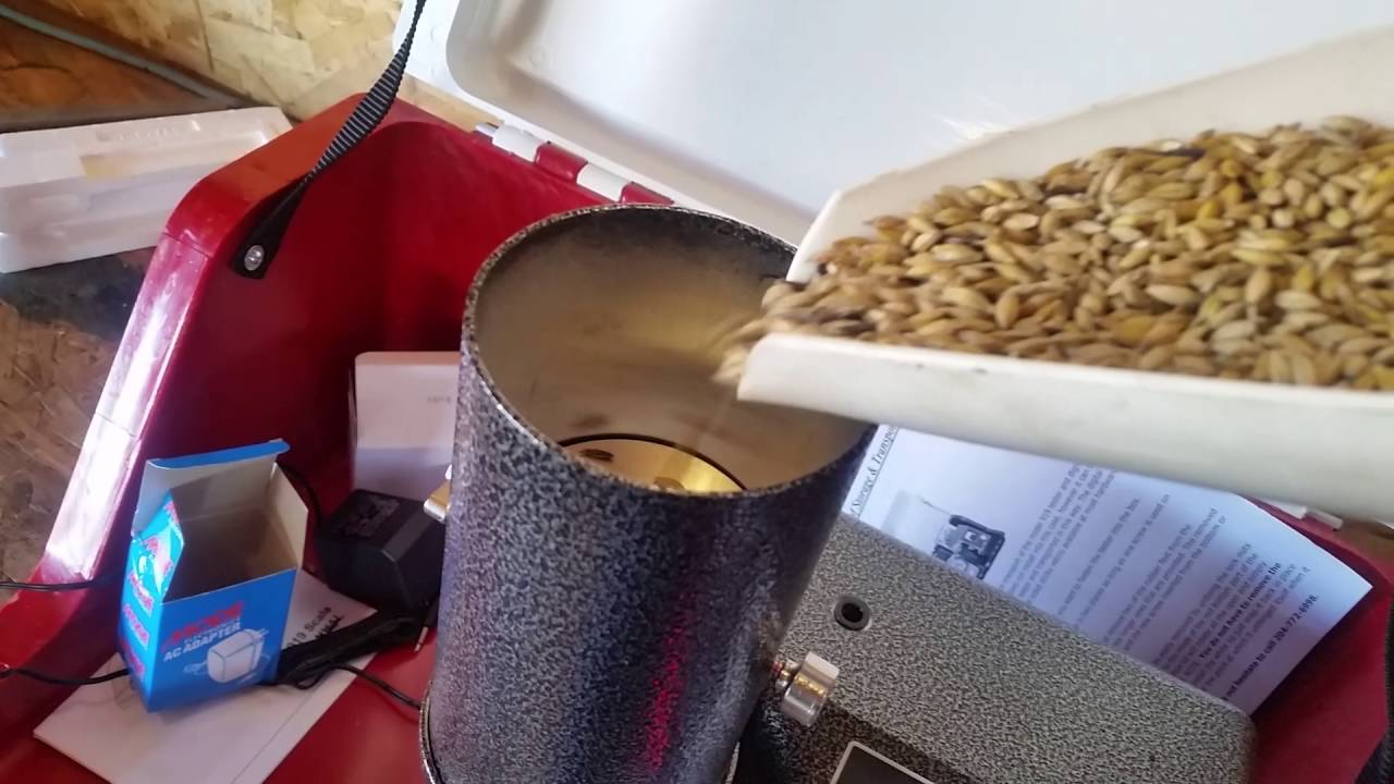 How to test the moisture content of grain youtube how to test the moisture content of grain nvjuhfo Images