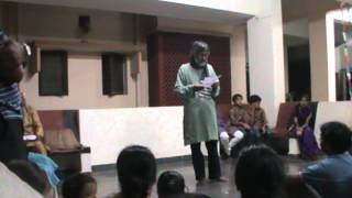 Hindi Poem by Harjinder Singh on the Saraswati Puja Evening 2013