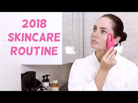 My 2018 Skin Care Routine! Night Time Edition \\ Chloe Morello
