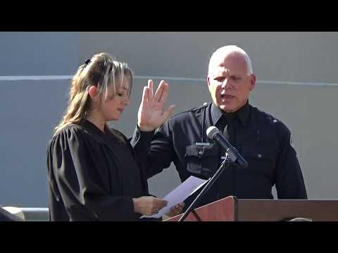City of West Covina - October 16, 2017 - Police Chief Marc Taylor Swearing-In Ceremony