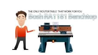 Router Table Bosch Review