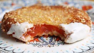 Juicy Fried Heirloom Tomatoes • Tasty
