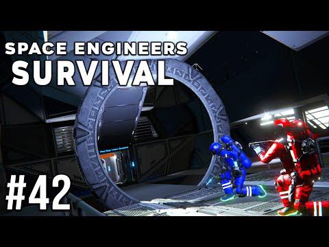 Space Engineers - Survival Ep #42 - GATEWAY?!