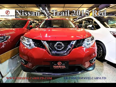 Nissan X-Trail 2015 Red