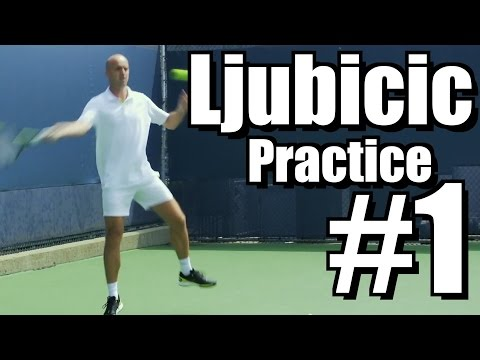 Ivan Ljubicic | Forehand and Backhand #1 | Western & Southern Open 2014