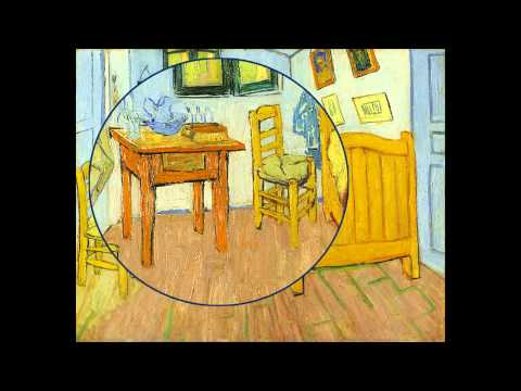 Top Post-Impressionist Vincent Van Gogh' painting, Vincent's Bedroom in Arles