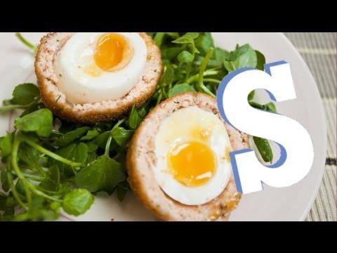 Salmon Scotch Eggs Recipe - SORTED