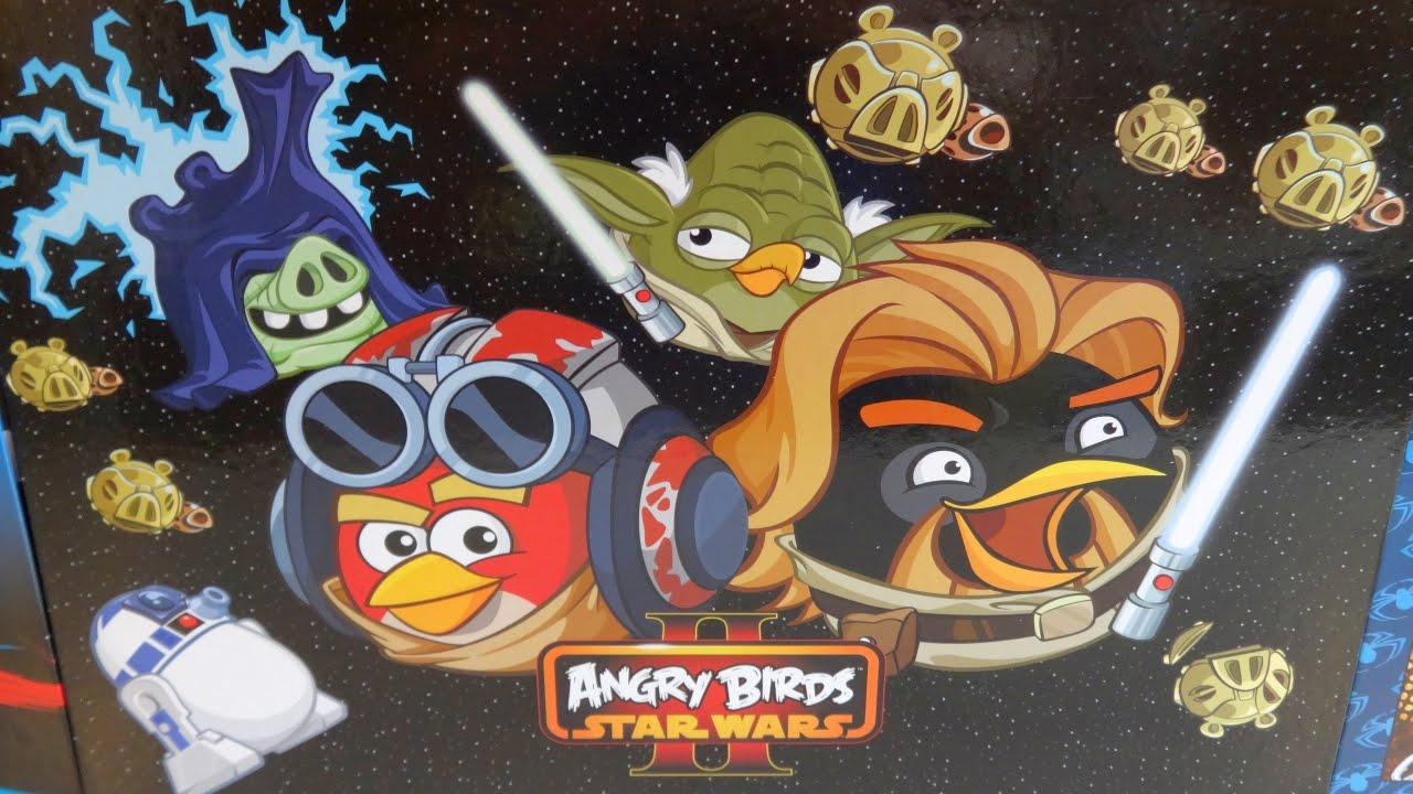 Angry Birds Star Wars Ii Big Bag School Set For Fans Quick Review