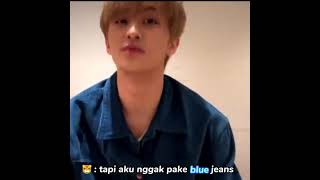 Download Mp3 tanggapan mark waktu diminta nyanyi blue jeans