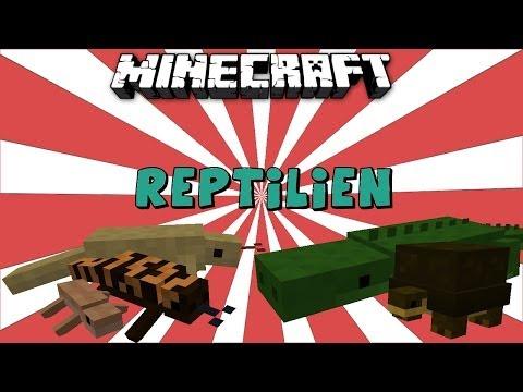 Minecraft: Reptile Mod - YouTube