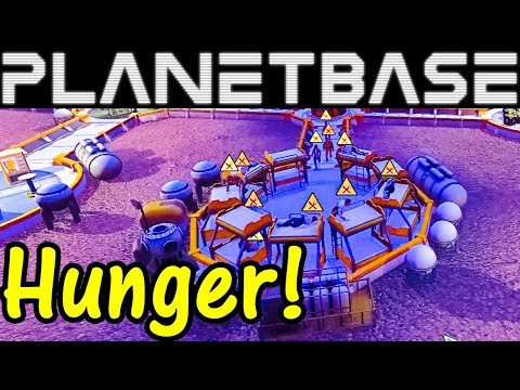 Let's Play Planetbase #4: Hunger!