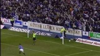 Rangers 2 v 1 Celtic - League Cup Quarter Final 2004