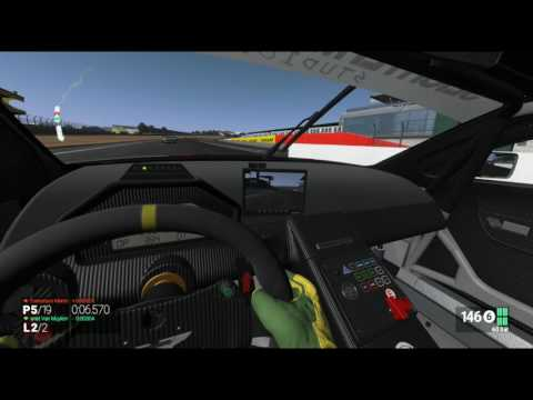 Project Cars HTC Vive and Race seat simulator.