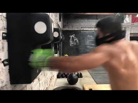 High Intense Boxing Workout Chuy Almada