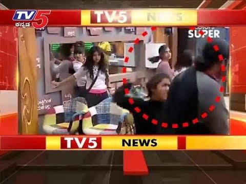 Samyukta Hegde Kirik with sameer acharya   ಸಮೀರಾಚಾರ್ಯ ಕಪಾಳಕ್ಕೆ ಹೊಡೆದ ಸಂಯುಕ್ತಾ   TV5 Kannada