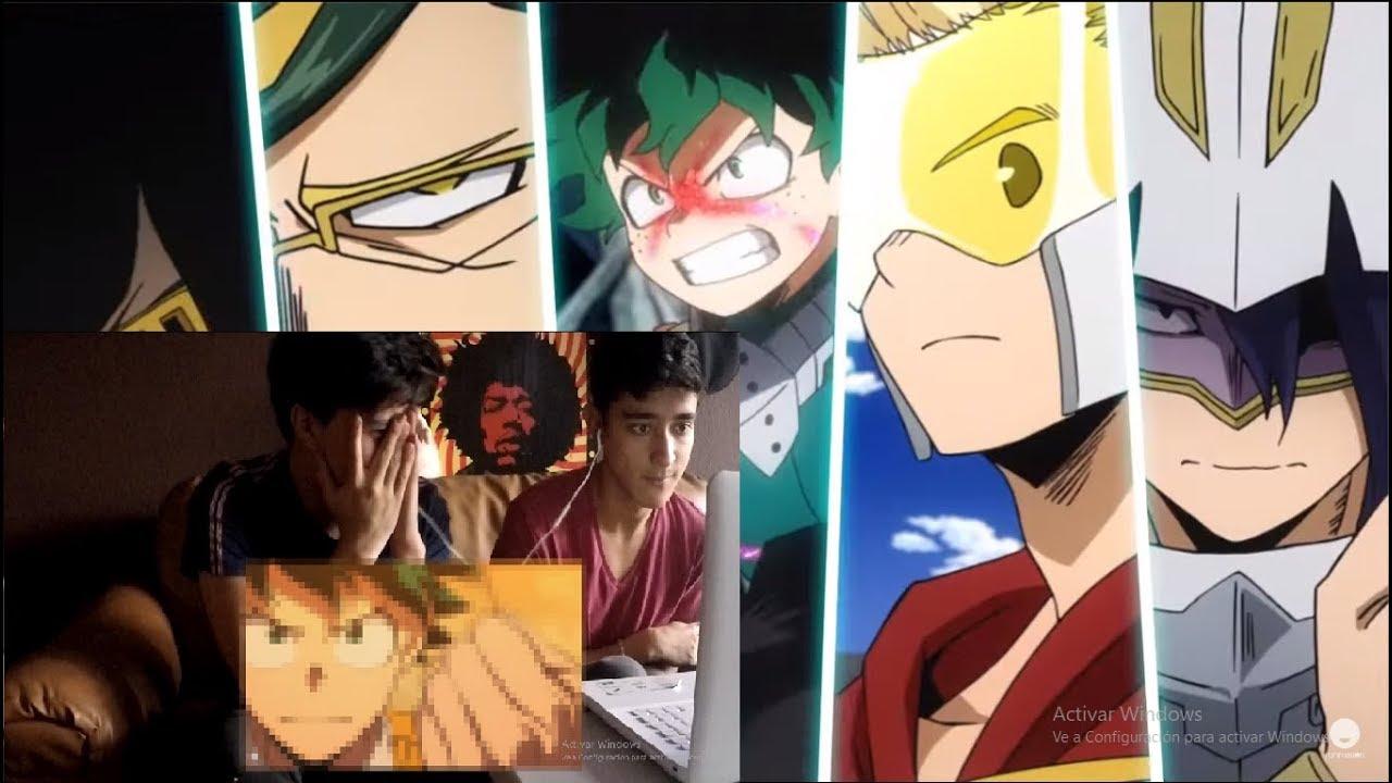 Boku no Hero Academia| REACCIÓN TRAILER FINAL SEASON 4 ...