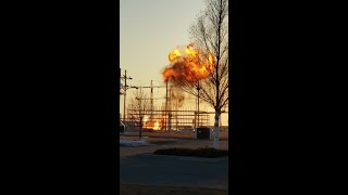 Explosion Video in Minot