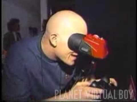 E3 1995 Virtual Boy footage