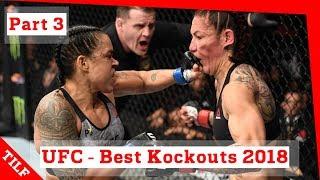 UFC - Best Knockouts 2018 - part 3: Jon Jones, Amanda Nunes, Alexander Volkanovski