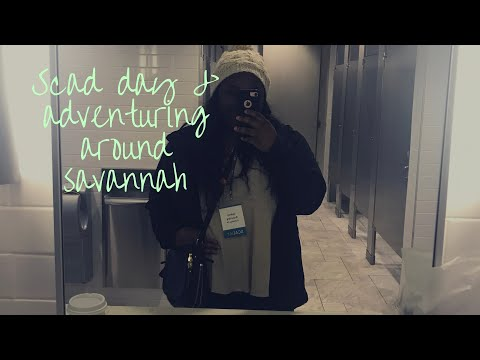 SCAD Day 2018 & Exploring around Savannah