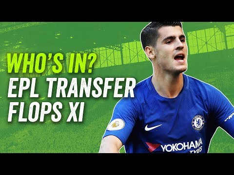 Morata, Hart, Lindelöf: the Premier League Transfer Flops XI