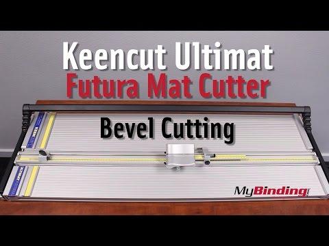 Bevel Cut Using The Keencut Ultimat Futura Mat Cutter