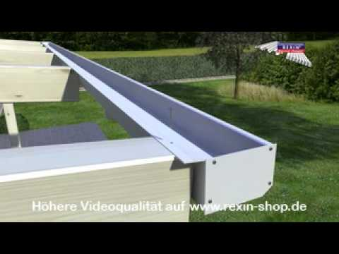 kastendachrinne balkon. Black Bedroom Furniture Sets. Home Design Ideas