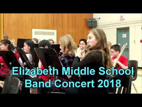 Elizabeth Middle School Band Concert 2018