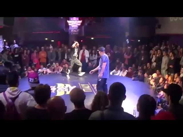 Boogie vs Movycube - Red Bull BC One Italy Cypher 2015