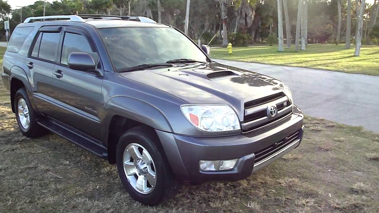 Sold 2005 Toyota 4 Runner V8 Sport Edition Suv Tow Package Dvd