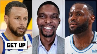 Chris Bosh on being elected to the Hall of Fame, LeBron's injury and Lakers vs. Warriors | Get Up