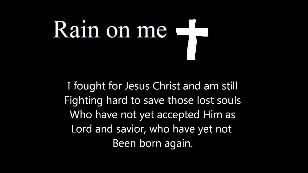Rain On Me (A Free Verse Spiritual Poem) - YouTube