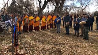 Drepung Loseling Monks - Healing in a Conflicted World - Kit Karson Tree Blessing Ceremony Clip 4