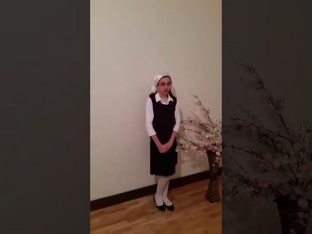 Изображение предпросмотра прочтения – КаринаАбдулазиева читает произведение «Дума (Печально я гляжу на наше поколенье!..)» М.Ю.Лермонтова