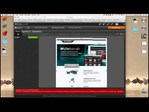 Online Proofing & Workflow Automation - Tucanna tFLOW with Pressero Web to Print