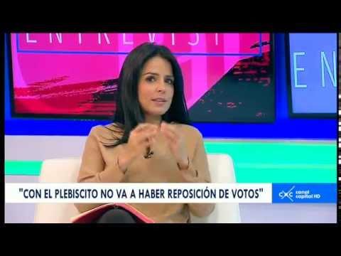 Entrevista con Claudia Palacios -  Alexander Vega, magistrado del Consejo Nacional Electoral