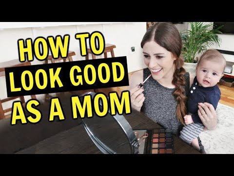 GET READY HACKS FOR MOMS | How to Look Put Together with a Baby