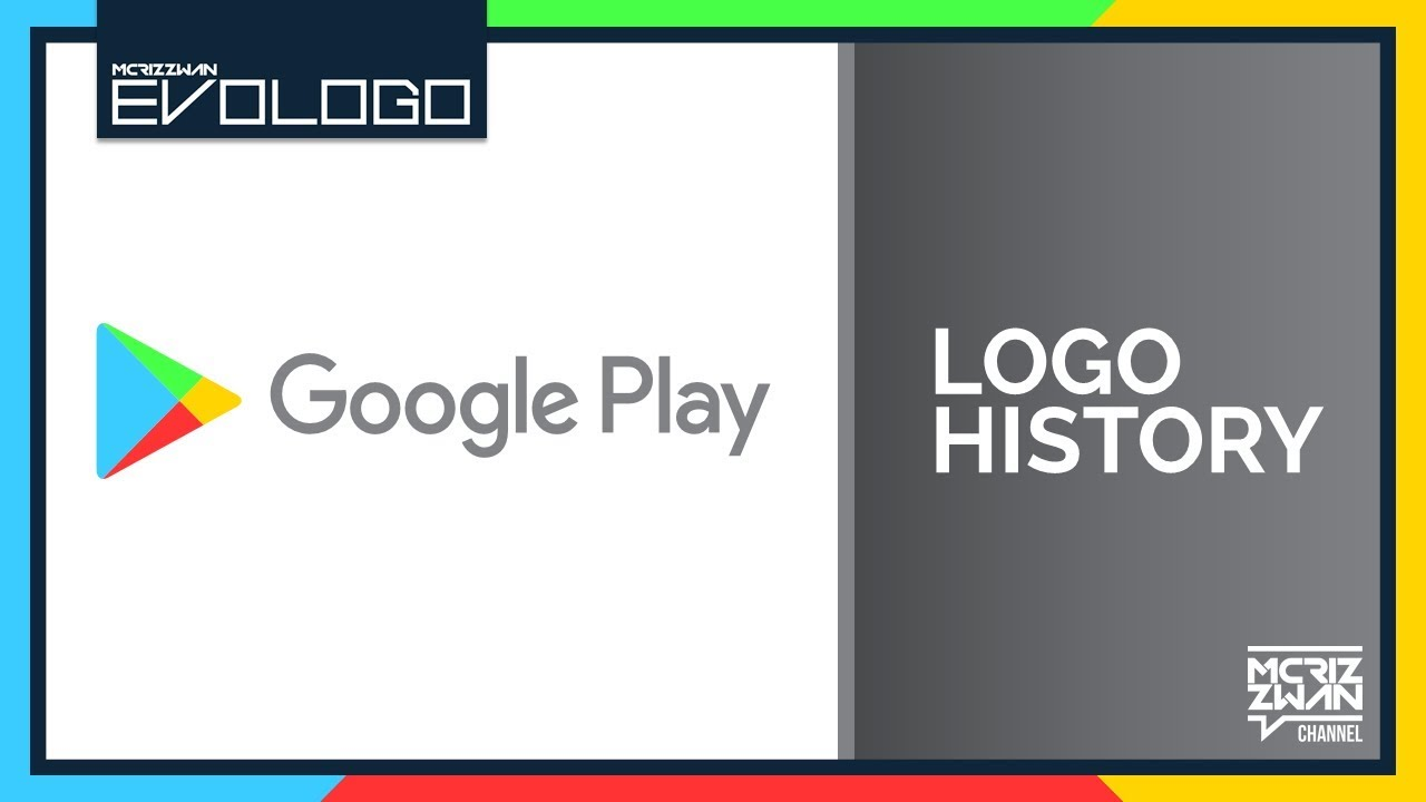Google Play Logo History | Evologo [Evolution of Logo]