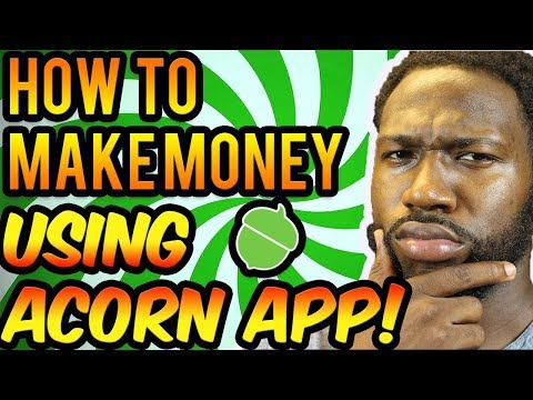 Acorns Investment App - How To Make Money Using Acorn App!
