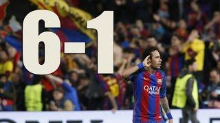 Video FC Barcelona - PSG (6-1) : FULL MATCH 2017 HD download MP3, 3GP, MP4, WEBM, AVI, FLV September 2019