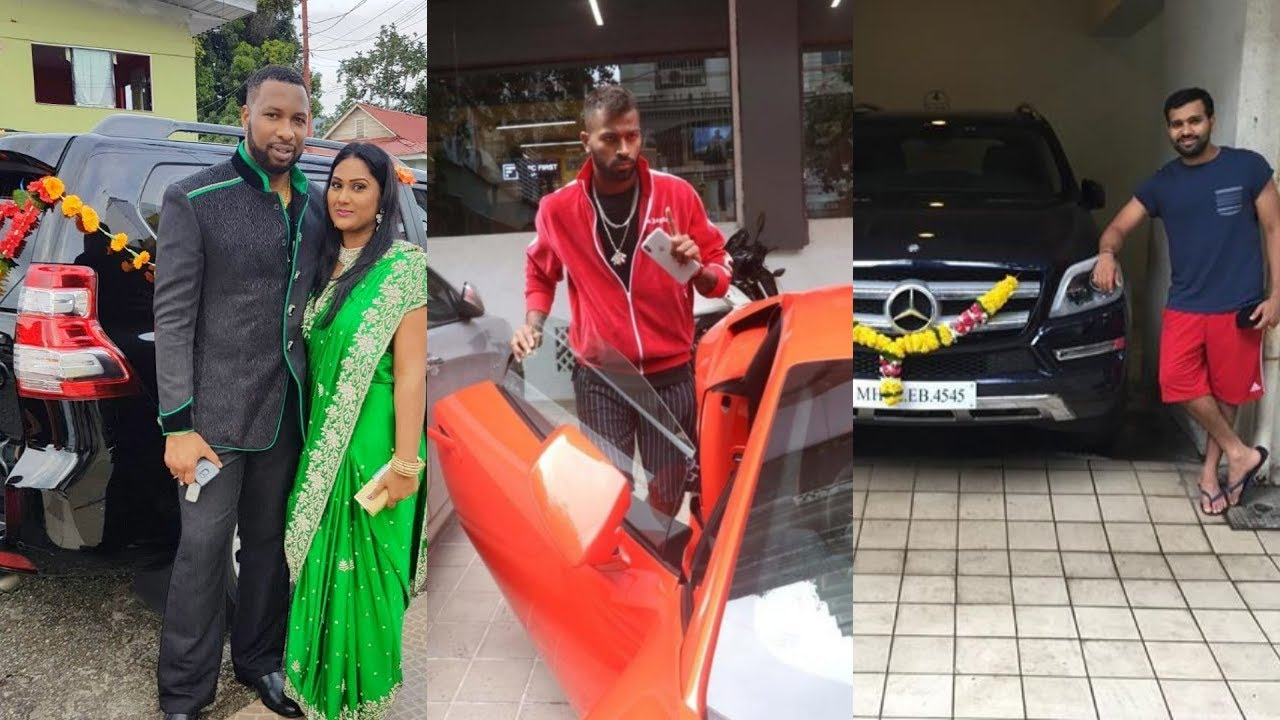 Mumbai Indians Players And Their Most Expensive Car Collection