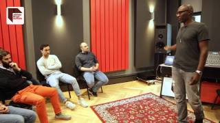 Masterclass: Kenny Larkin at Abbey Road Institute Berlin(The one and only Kenny Larkin demonstrates his analog workflows using an API 'The Box' at Abbey Road Institute Berlin, and answers questions from ..., 2016-04-25T15:13:02.000Z)