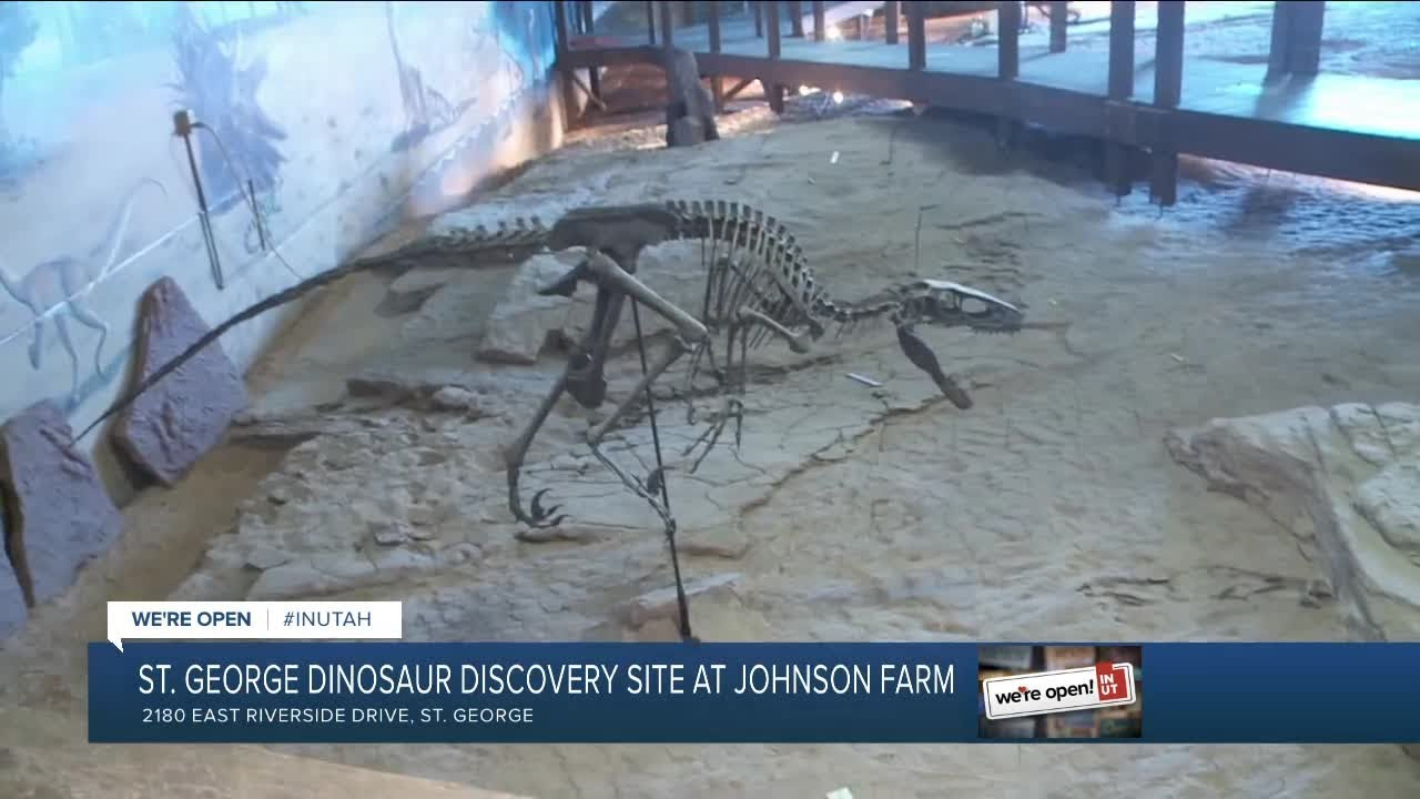 St George Dinosaur Discovery Site At Johnson Farm 3 Youtube