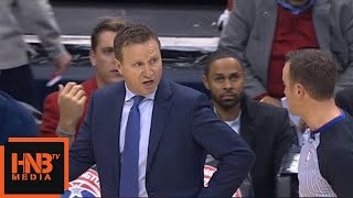 Scott Brooks gets technical foul / Cavaliers vs Wizards