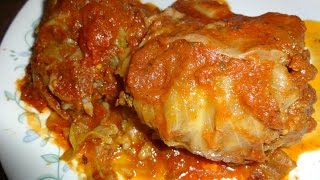 Home Made Cabbage Rolls Made From My Mother Recipe
