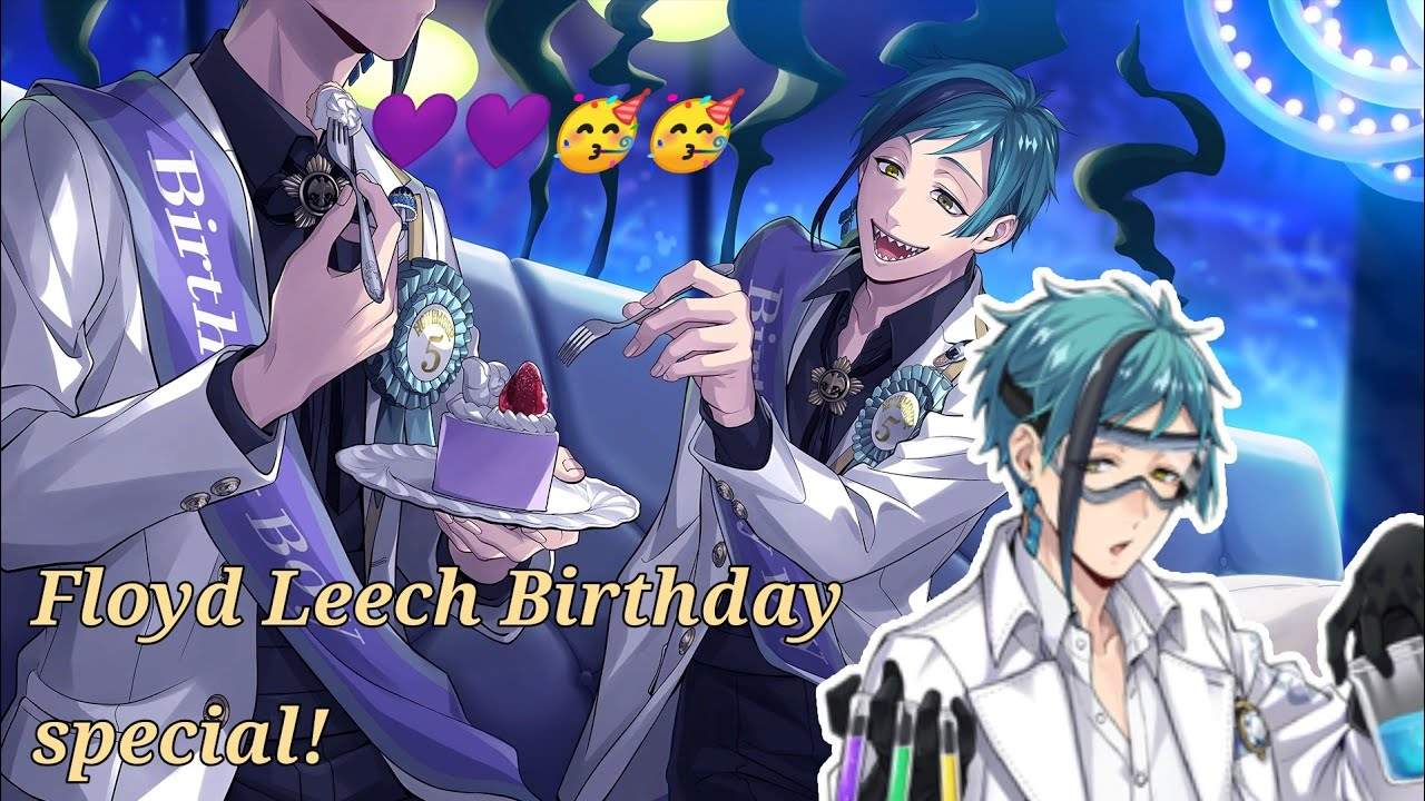 Download (Twisted Wonderland) ツイステ || Floyd Leech Bday Personal story special! (eng sub)