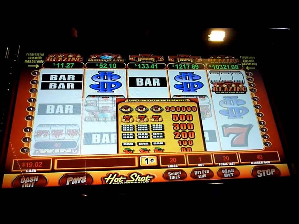 Hot shots slot machine odds