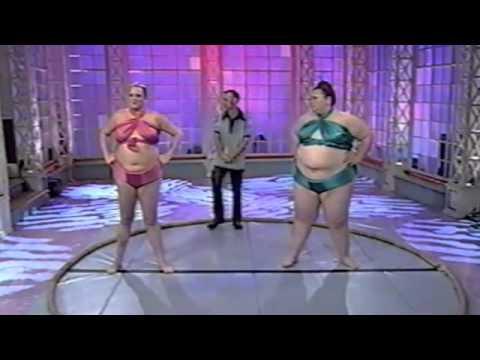 Bbw woman sumo wrestling